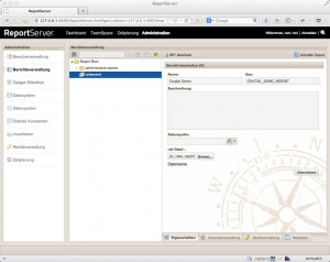SAP Crystal Reports with ReportServer |